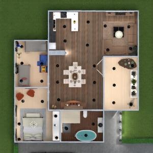 progetti appartamento arredamento decorazioni bagno saggiorno illuminazione sala pranzo 3d