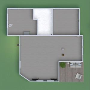 floorplans maison terrasse meubles décoration chambre d'enfant 3d
