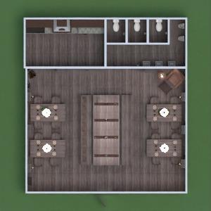 progetti decorazioni illuminazione rinnovo caffetteria sala pranzo vano scale 3d