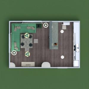 floorplans mobiliar dekor küche beleuchtung haushalt lagerraum, abstellraum 3d