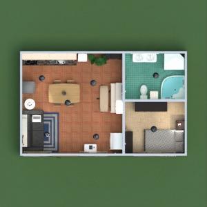 floorplans wohnung mobiliar dekor do-it-yourself badezimmer schlafzimmer wohnzimmer küche beleuchtung haushalt esszimmer lagerraum, abstellraum 3d