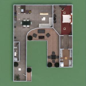 floorplans house terrace furniture diy bathroom bedroom living room kitchen outdoor lighting landscape household dining room 3d