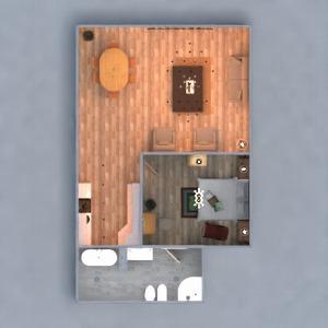 floorplans meubles décoration diy salle de bains eclairage 3d