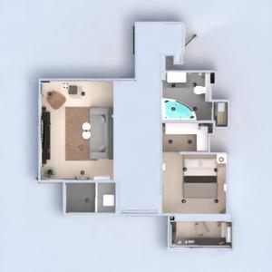 floorplans apartamento mobílias decoração banheiro quarto quarto cozinha iluminação reforma utensílios domésticos despensa estúdio patamar 3d