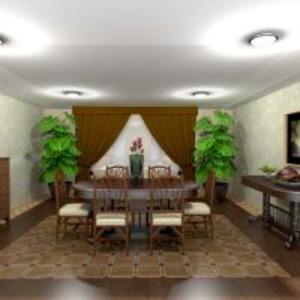 floorplans appartement maison meubles décoration salle à manger 3d