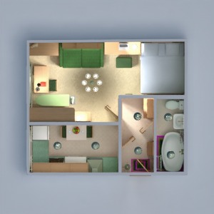 progetti appartamento arredamento decorazioni bagno camera da letto saggiorno cucina illuminazione famiglia ripostiglio vano scale 3d