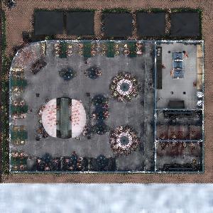 floorplans eksterjeras apšvietimas kavinė 3d