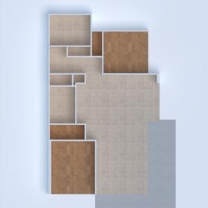 floorplans apartamento mobílias iluminação sala de jantar arquitetura 3d