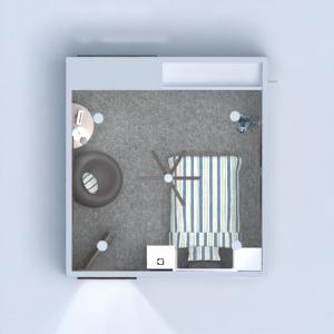 floorplans mieszkanie dom sypialnia pokój diecięcy przechowywanie 3d