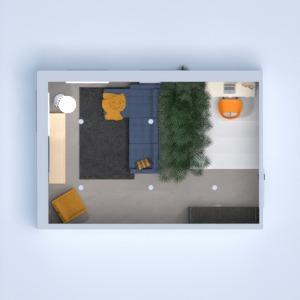 floorplans living room office 3d