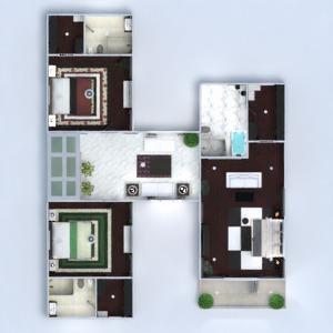 floorplans maison terrasse meubles décoration salle de bains chambre à coucher salon garage cuisine extérieur bureau eclairage paysage maison salle à manger architecture studio 3d