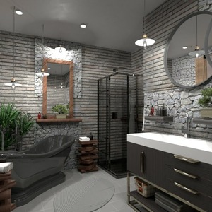 floorplans decor bathroom lighting 3d