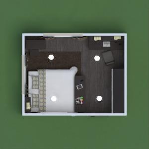 planos apartamento casa dormitorio habitación infantil 3d