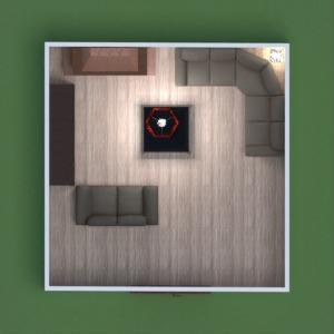 floorplans mobílias decoração quarto patamar 3d