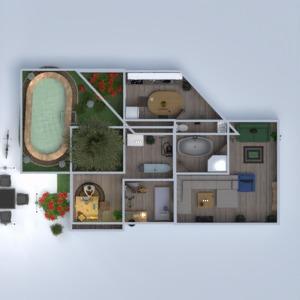 floorplans bathroom bedroom living room kitchen outdoor 3d