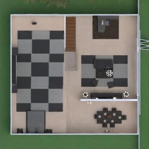 floorplans banheiro quarto quarto cozinha sala de jantar 3d