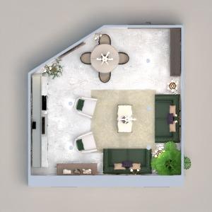 planos casa muebles cocina iluminación arquitectura 3d