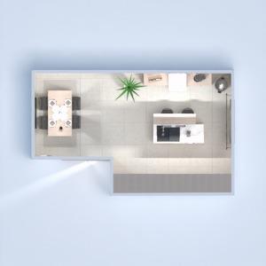planos muebles decoración cocina iluminación 3d