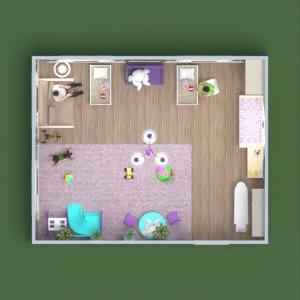 floorplans mobiliar dekor kinderzimmer beleuchtung lagerraum, abstellraum 3d
