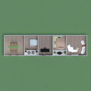 floorplans apartment house garage landscape 3d