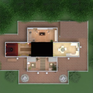 floorplans haus mobiliar dekor do-it-yourself badezimmer schlafzimmer wohnzimmer küche beleuchtung landschaft haushalt architektur lagerraum, abstellraum eingang 3d