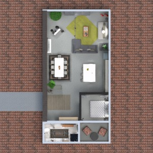 планировки квартира терраса мебель декор 3d