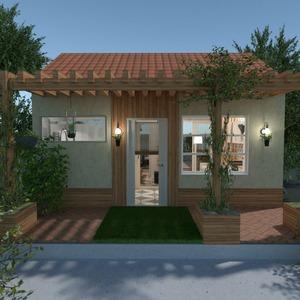 floorplans namas vonia miegamasis svetainė eksterjeras 3d
