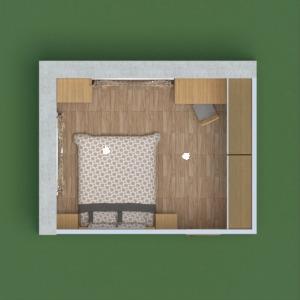 planos apartamento casa muebles decoración 3d
