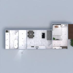 floorplans appartement décoration diy salle de bains chambre à coucher salon cuisine extérieur eclairage salle à manger 3d