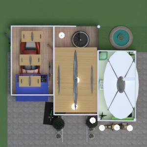 floorplans casa varanda inferior mobílias banheiro quarto garagem cozinha iluminação arquitetura 3d