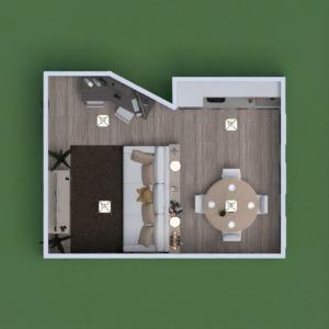 floorplans mieszkanie zrób to sam pokój dzienny kuchnia jadalnia mieszkanie typu studio 3d