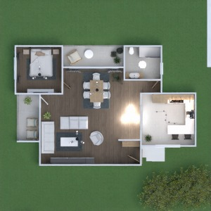 планировки дом мебель ванная спальня гостиная 3d