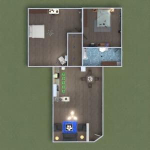 floorplans appartement meubles décoration eclairage 3d