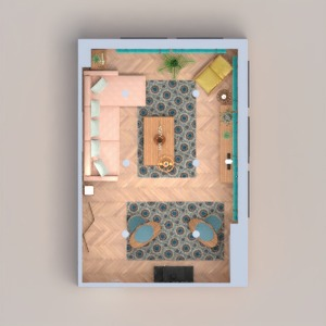 планировки квартира гостиная 3d