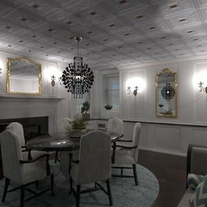 floorplans baldai svetainė apšvietimas valgomasis 3d
