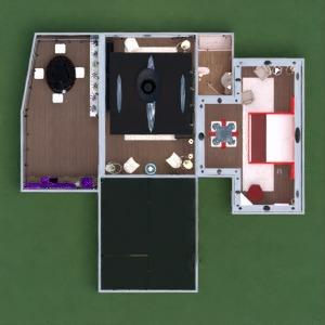 planos casa muebles decoración cuarto de baño dormitorio salón cocina iluminación paisaje arquitectura trastero 3d