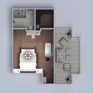 planos casa dormitorio arquitectura 3d