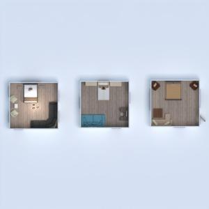floorplans butas namas baldai dekoras miegamasis 3d