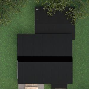 floorplans namas miegamasis svetainė virtuvė valgomasis 3d
