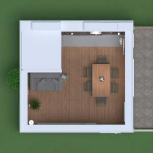 floorplans wohnung mobiliar dekor küche beleuchtung lagerraum, abstellraum studio 3d