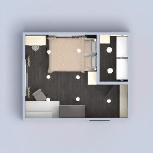 planos apartamento casa muebles decoración dormitorio iluminación trastero 3d