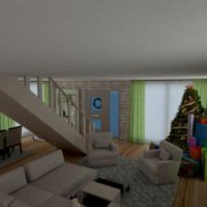 floorplans apartamento casa varanda inferior decoração quarto quarto sala de jantar 3d