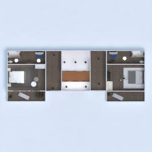 floorplans mieszkanie dom taras meble wystrój wnętrz łazienka sypialnia garaż kuchnia oświetlenie wejście 3d