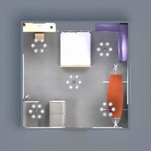 floorplans décoration chambre à coucher eclairage espace de rangement studio 3d