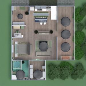 floorplans dom meble wystrój wnętrz zrób to sam łazienka sypialnia pokój dzienny garaż kuchnia oświetlenie architektura mieszkanie typu studio 3d