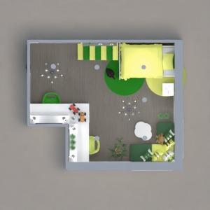 progetti camera da letto saggiorno studio 3d