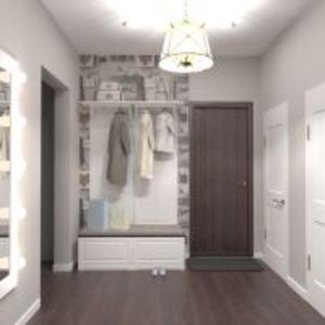 progetti appartamento casa arredamento decorazioni ripostiglio vano scale 3d