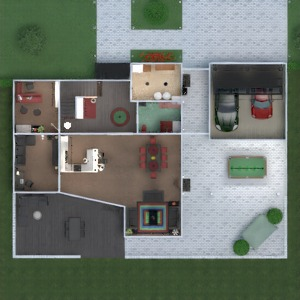 planos apartamento casa terraza muebles decoración cuarto de baño dormitorio salón garaje cocina exterior habitación infantil despacho iluminación comedor arquitectura descansillo 3d