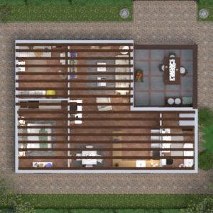 planos casa cuarto de baño dormitorio salón habitación infantil 3d