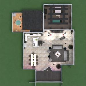 planos apartamento casa terraza muebles decoración bricolaje cuarto de baño dormitorio salón despacho iluminación reforma hogar arquitectura descansillo 3d